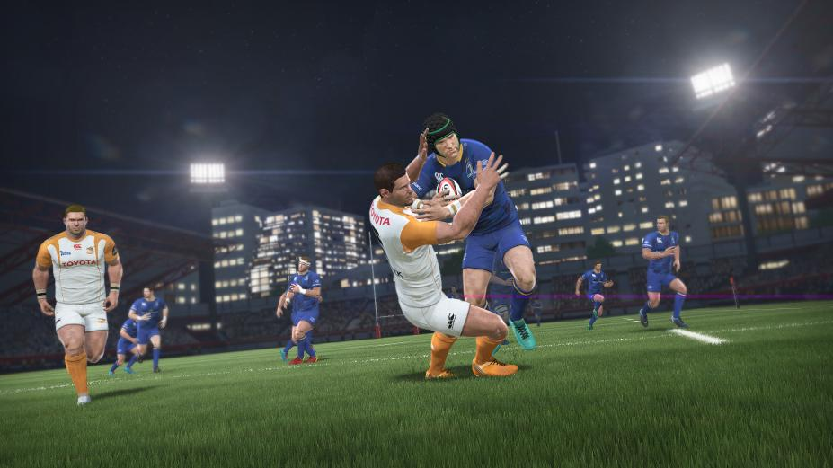 《橄榄球18》游戏截图