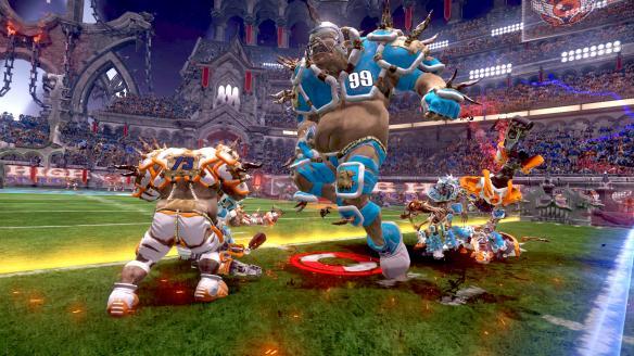 《异形橄榄球联盟》游戏截图