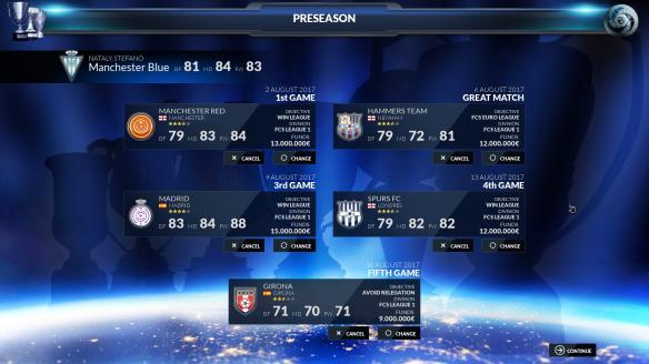 《足球俱乐部模拟18》游戏截图