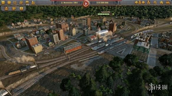 《铁路帝国》游戏截图1