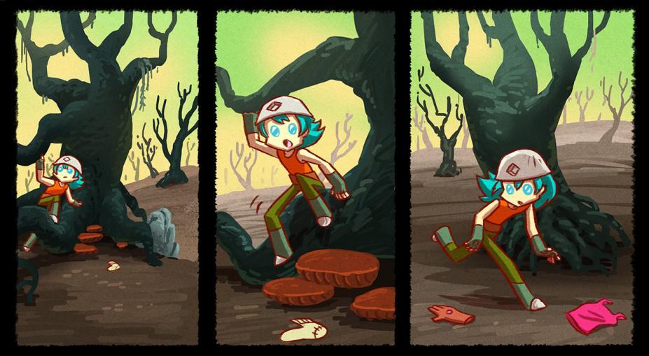 《光之学徒:漫画书历险记》游戏截图