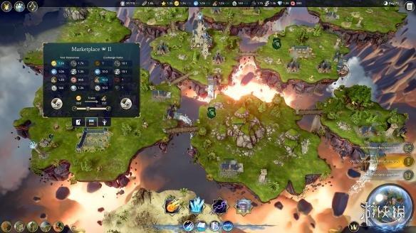 《漂移大陆:魔法复兴》游戏截图