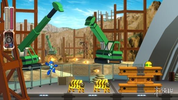 《洛克人11》游戏截图