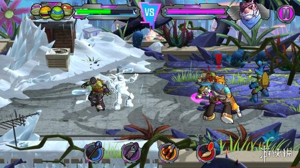 《忍者神龟:电门》游戏截图1