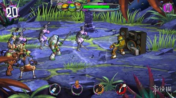 《忍者神龟:电门》游戏截图3