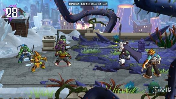 《忍者神龟:电门》游戏截图4