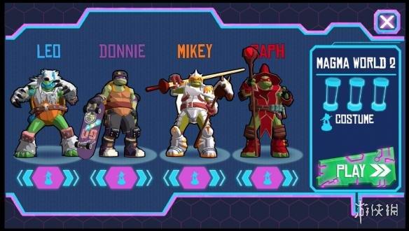 《忍者神龟:电门》游戏截图5