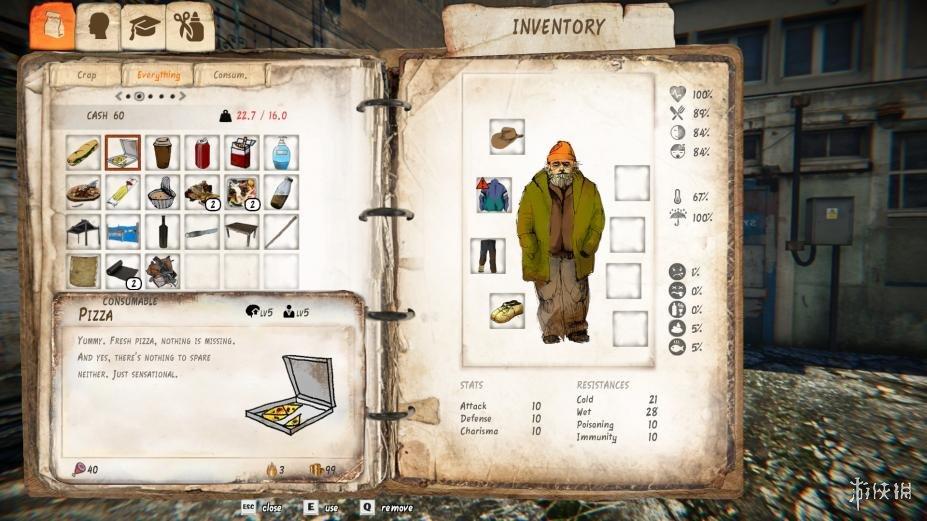 《流浪汉:艰难的生活》游戏截图