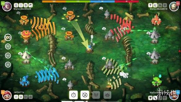 《蘑菇戰爭2》游戲截圖