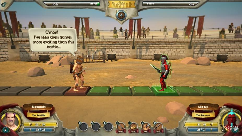《战士们:走向荣耀!》游戏截图