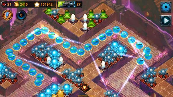 《元素塔防》游戏截图