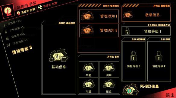 《脑叶公司:怪物办理模仿》中文截图