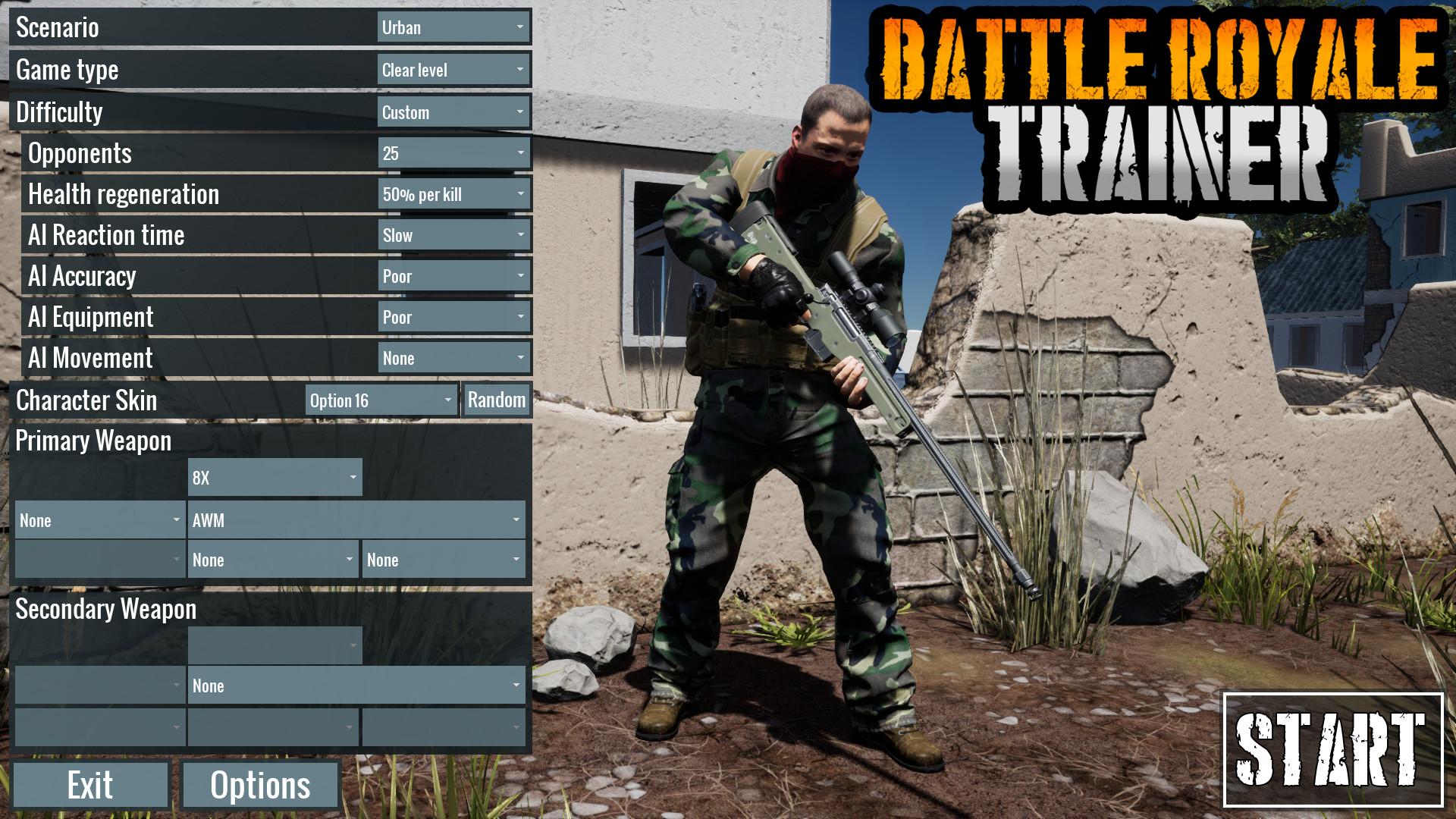 吃鸡模拟器/吃鸡教练/Battle Royale Trainer