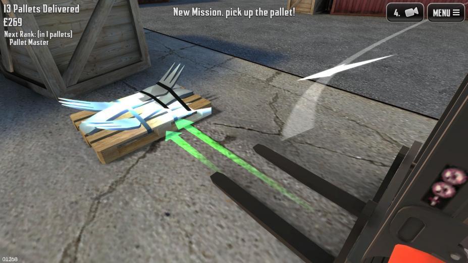 《极限叉车2》游戏截图
