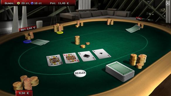 《流行扑克3D社区版》游戏截图