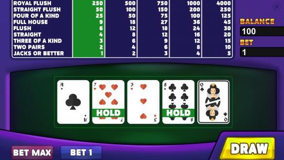 《皇家赌场:视频扑克》免安装绿色版