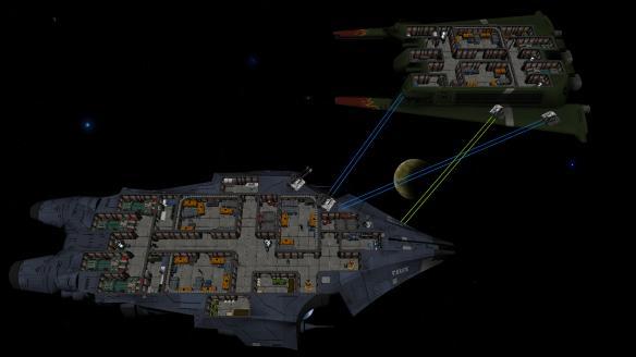 《银河小队》游戏截图