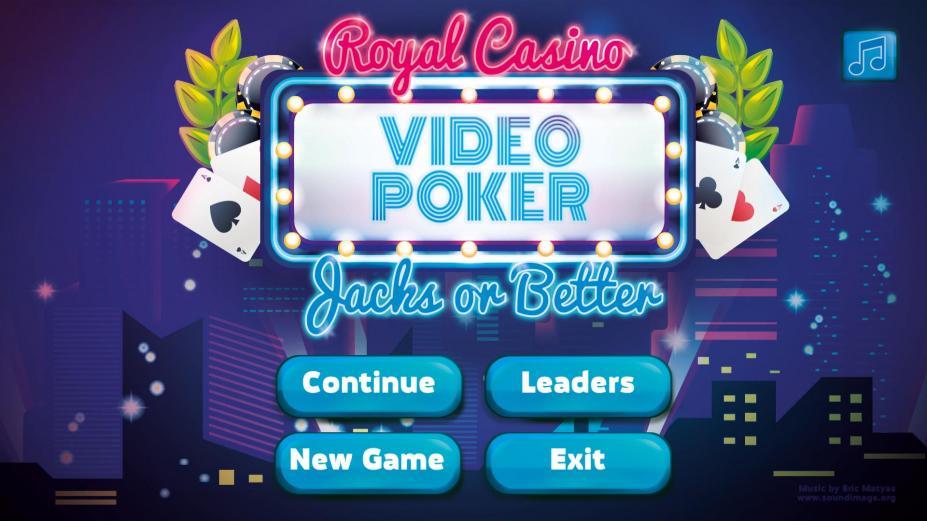 《皇家赌场:视频扑克》游戏截图(1)