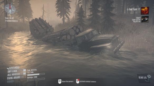 《旋转轮胎:泥泞奔驰》游戏截图-2