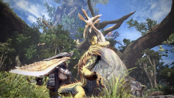 《怪物猎人世界》游戏壁纸-12-1