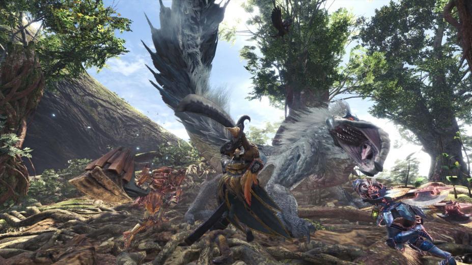 《怪物猎人世界》游戏截图-7(1)