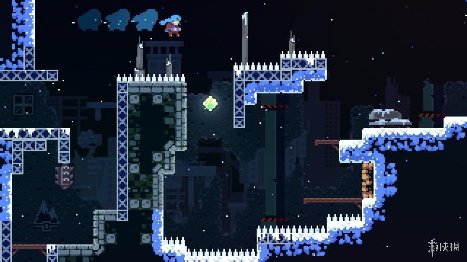 《蔚蓝》游戏截图