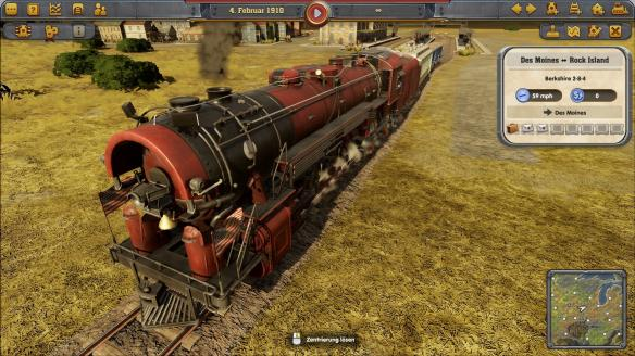 《铁路帝国》游戏截图-3