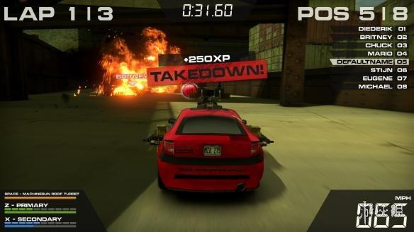 《火爆竞速5HD》游戏截图
