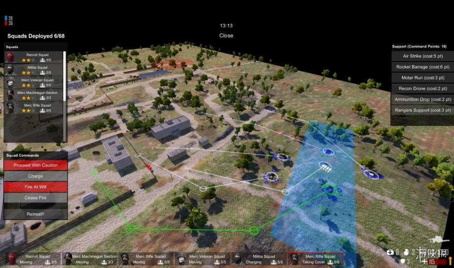 《自由人:游击战争》游戏截图