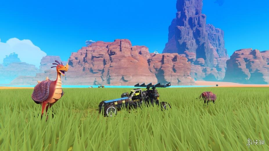 《Trailmakers》游戲截圖