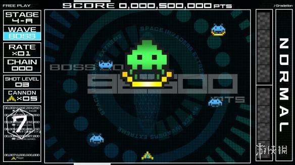 《太空入侵者》游戏截图