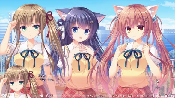 《猫忍之心PLUS Saiha》游戏截图