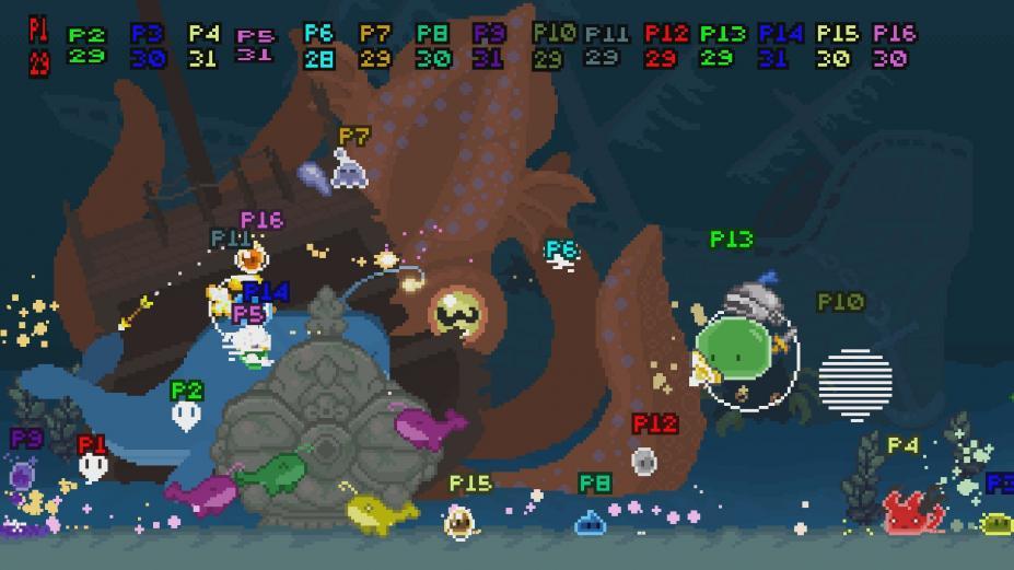 《超级团子战场》游戏截图