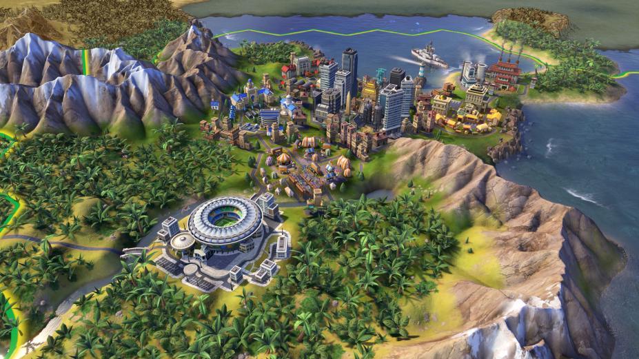 《席德梅爾之文明6》游戲截圖