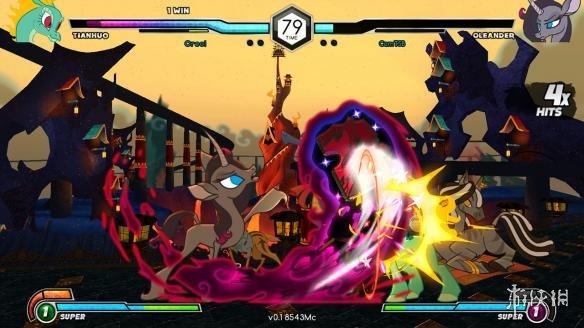 《彩虹小马:格斗就是魔法》游戏截图