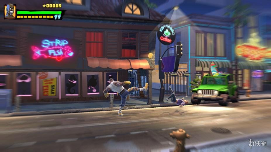 《功夫鲨鱼:传奇重生》游戏截图