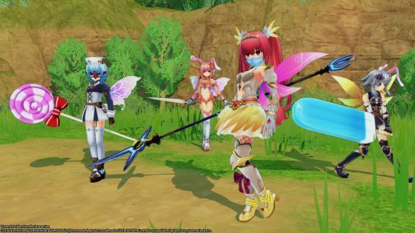 《四女神ONLINE:网络次元海王星》游戏截图-4