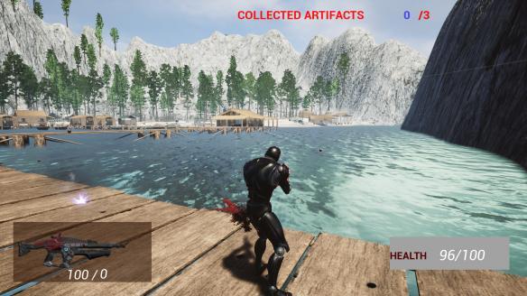 《机器人入侵射手2:地球之战》游戏截图