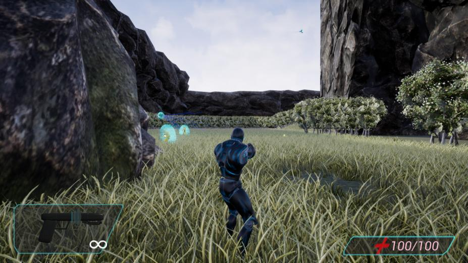 《机器人入侵射手》游戏截图