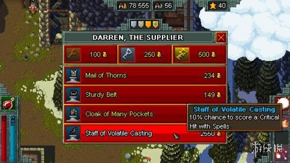 《铁锤守卫英雄》游戏截图