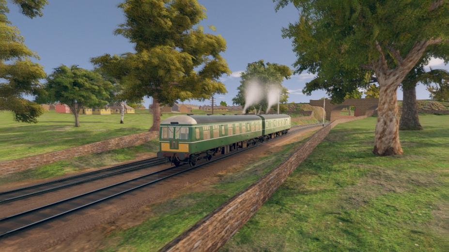 《内燃机车模拟》游戏截图(1)