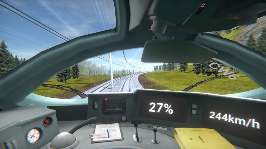 《高速火车》游戏截图