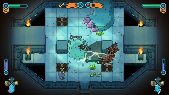 《迪托之剑》游戏截图-2