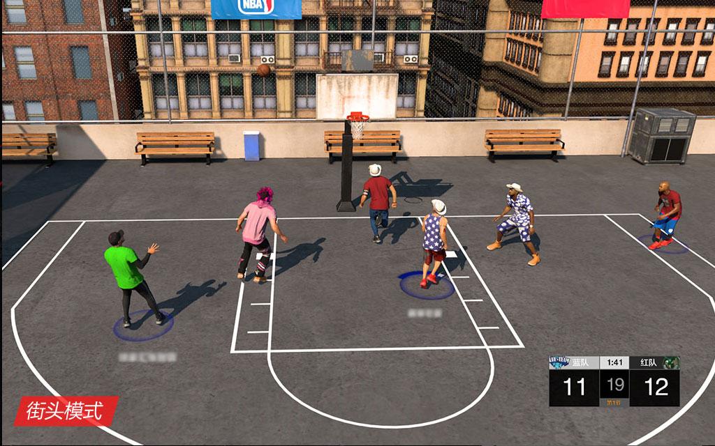 《NBA2K OL2》游戏截图