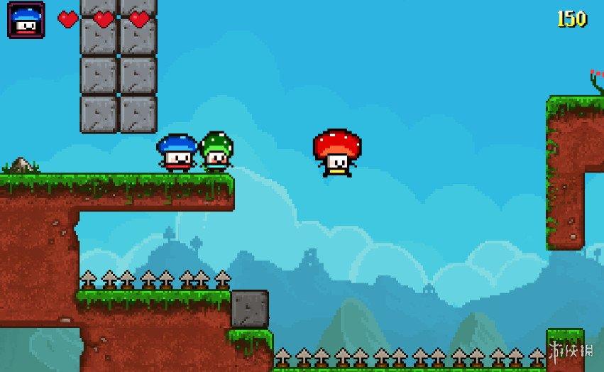 《蘑菇三兄弟》游戏截图