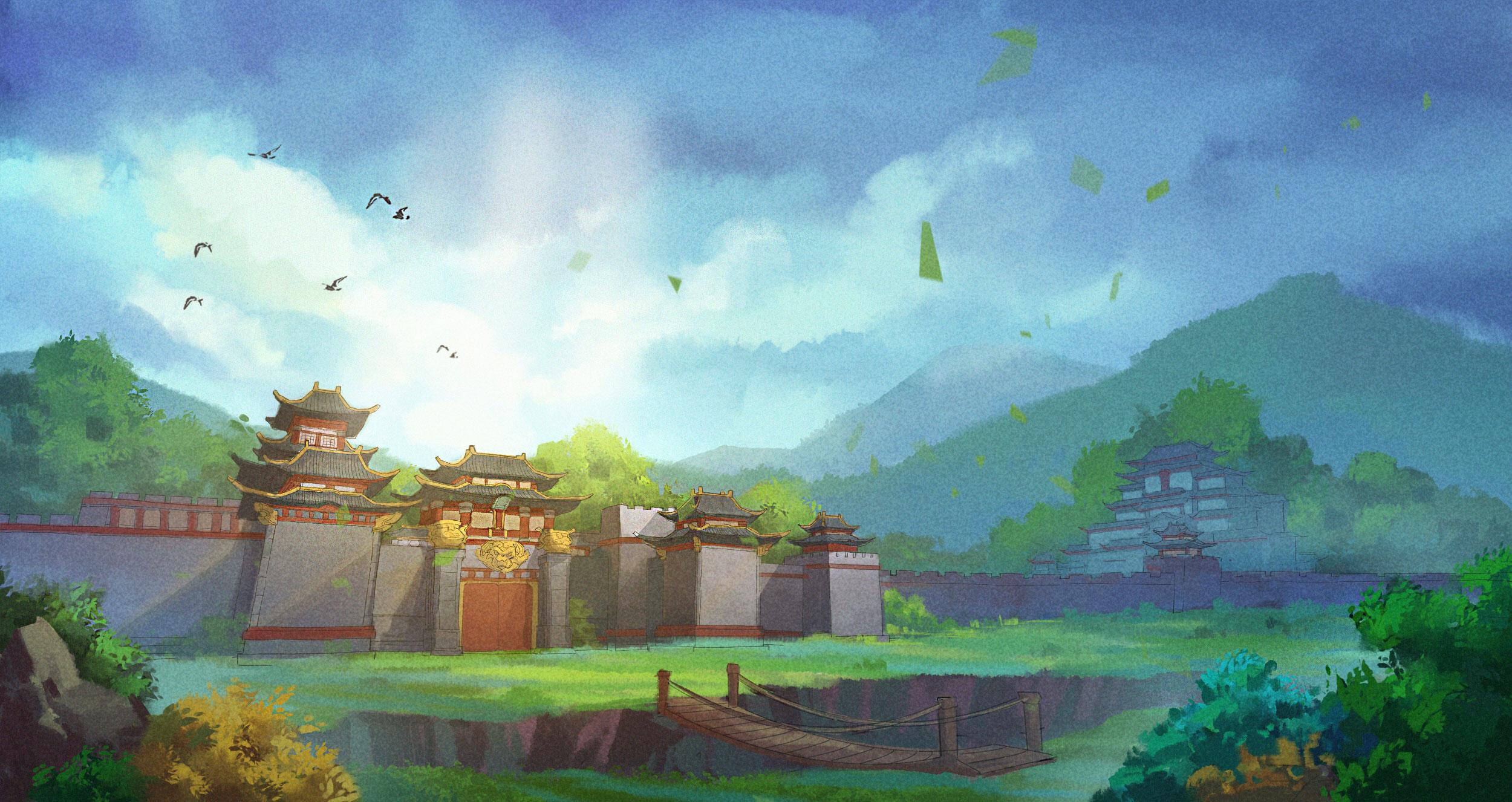 《笑傲江湖OL》游戏截图