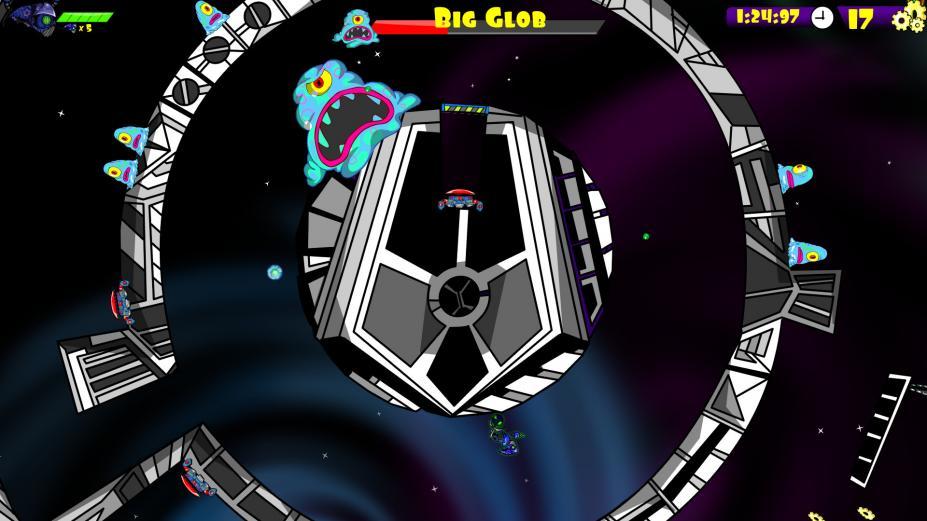 《Zorbit的轨道》游戏截图