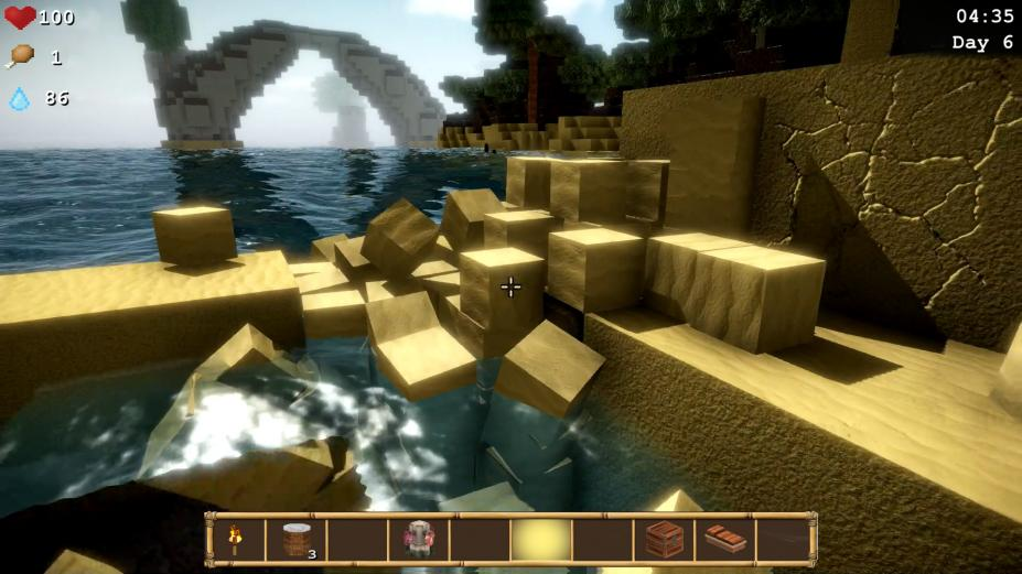 《方块世界:孤岛求生》游戏截图