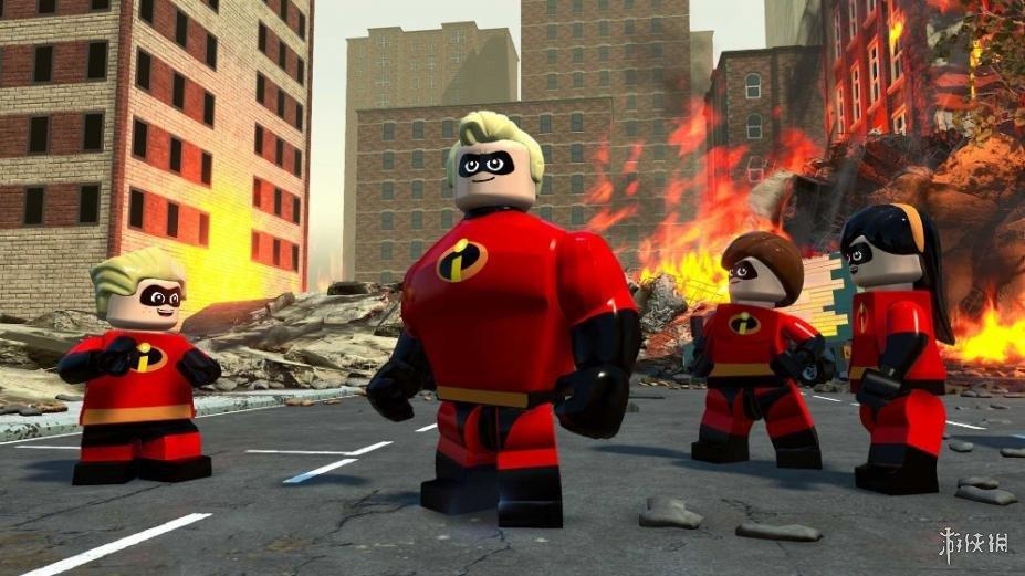 《乐高超人总动员》游戏截图