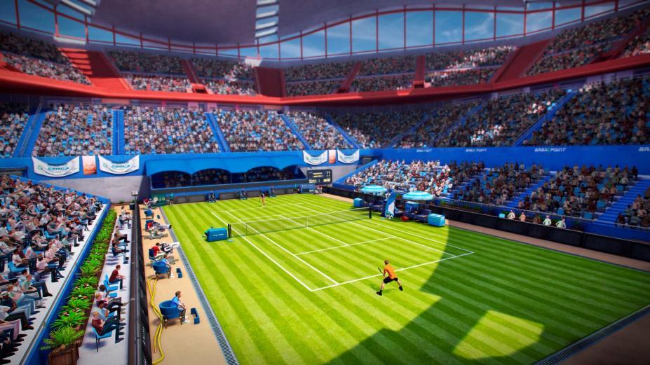 《网球世界巡回赛》游戏截图